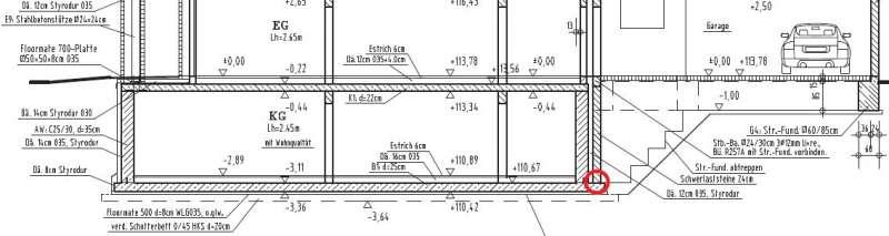 bau de forum au enw nde und fassaden 15352 kimmstein in auf kellersohle hochgemauerter. Black Bedroom Furniture Sets. Home Design Ideas
