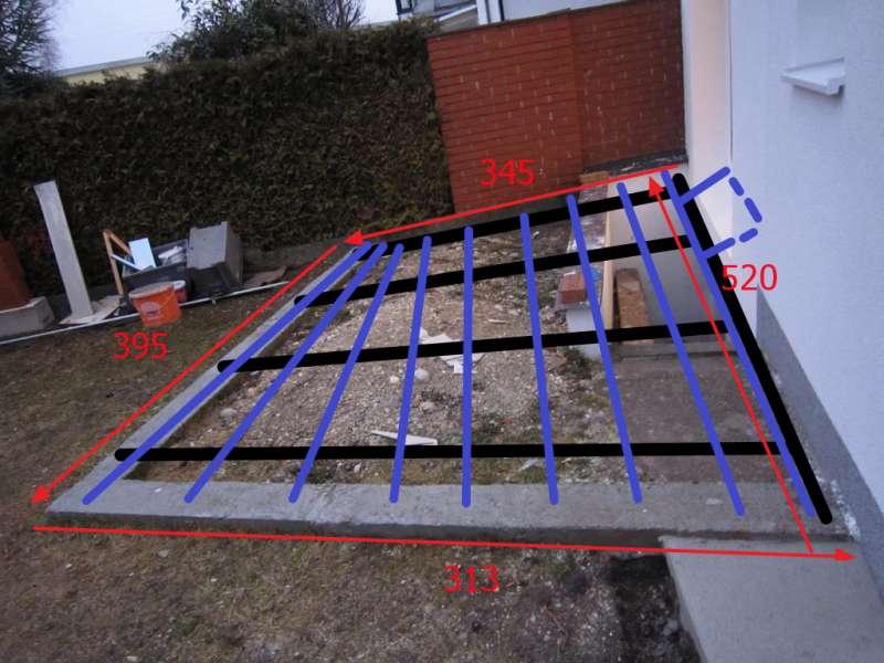 bau de forum balkon und terrasse 12029 terrassenunterkonstruktion ber kellerabgang. Black Bedroom Furniture Sets. Home Design Ideas