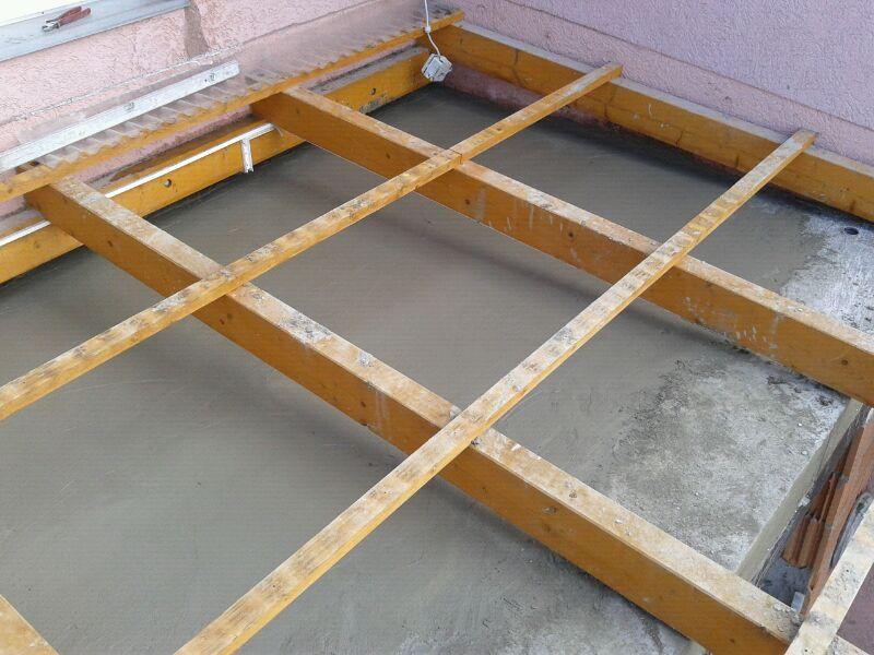 bau de bilder zum forumsbeitrag balkonabdichtung nach einem anbau. Black Bedroom Furniture Sets. Home Design Ideas