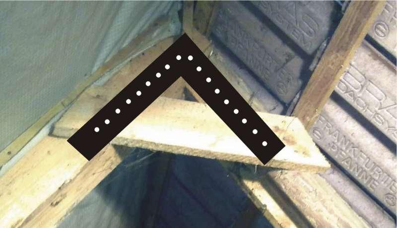 Bau de forum dach 15774 bei sparrendach ohne firstpfette firstzangen ersetzen - Pfettendach mit zweifach stehendem stuhl ...