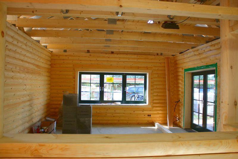 bau de forum dach 16365 rundbohlen blockhaus dampfbremse in decke ja oder nein. Black Bedroom Furniture Sets. Home Design Ideas