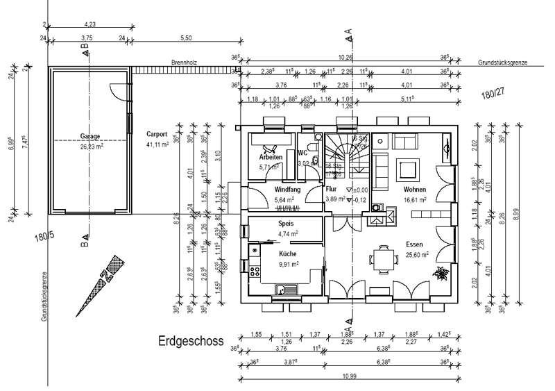 Bau de forum grundriss diskussionen 10608 - Esszimmer wohnzimmer aufteilung ...
