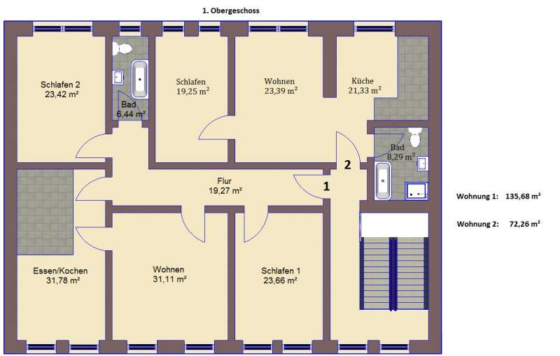 Grundriss luxuswohnung  BAU.NET - Forum - Grundriss-Diskussionen - 10687: Grundriss - 2 ...