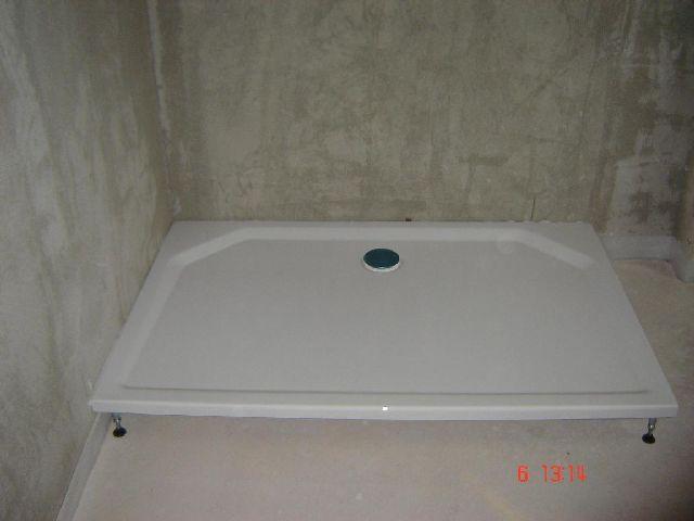 Bau de forum sanit r bad dusche wc 11744 wie - Duschwanne abdichten wand ...