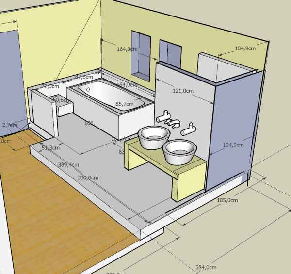 Bau De Forum Sanitar Bad Dusche Wc 11946 Bad Podest Aus