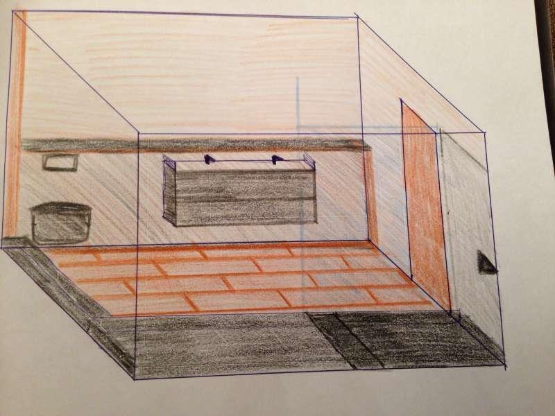 bauen sanit r bad dusche wc 12170 ebenerdige dusche auf. Black Bedroom Furniture Sets. Home Design Ideas