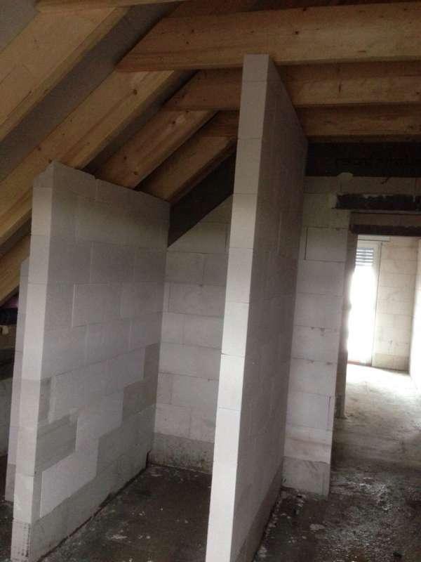 ... - Sanitär, Bad, Dusche, WC - 12180: Dusche bis zur Decke gemauert